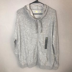 Xersion NWT semi fit zip up hooded jacket